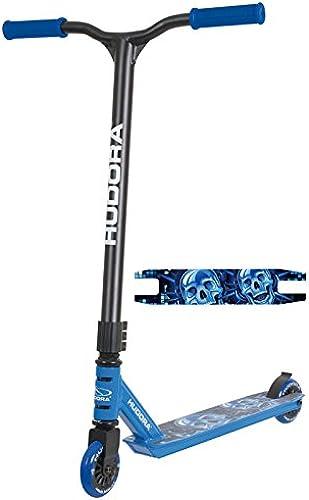 HUDORA Stunt Scooter XQ-12 blau 66x82,5cm Roller Tretroller Cityroller Kickscooter Kickroller