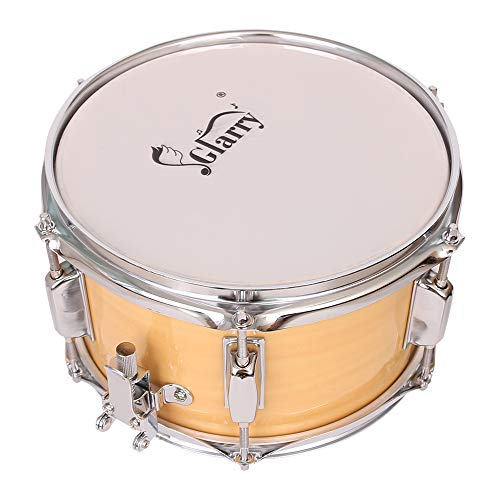 Evans MX5 Marching Snare Side Drum Head Pair 14 Inch with Vater 5B Wood Tip Hickory Drum Sticks