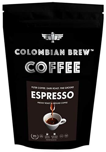 Colombian Brew Coffee Arabica Espresso Filter Coffee