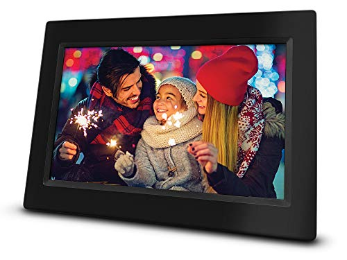 RCA 10' Wi-Fi Digital Photo Frame | Photo and Video Playback, 8GB Internal Storage, Touch Screen, Slideshow Feature. Instantly Sharing Memories. Worldwide Connectivity.