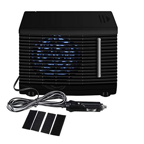 Premewish Mini Luftkühler für Auto,DC 12V Mobiles Klimageräte Kühler Lüfter Wasser Eis Verdunstungs Klimaanlage Ventilator Auto Zubehör