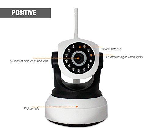 Empuje De Alarma Control Remoto Sistema De Cámara De Vigilancia Ip Cámara Ocultada Ip Wifi , 1080P Hd 2 Millones De Píxeles White Vigilancia De Cámaras De Seguridad