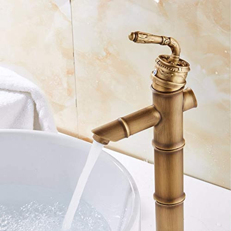 Lddpl Wasserhahn Modernes design bambus antiken messing wasserhahn mode waschbecken wasserhhne bad mischer vintage waschbecken wasserhahn