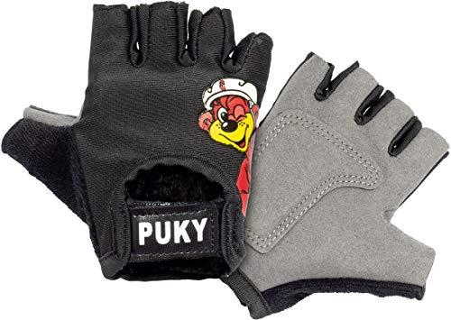 Puky Kinder Fahrrad Handschuhe kurz schwarz