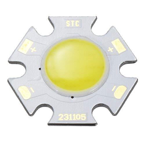 300 mA, 5 W LED-Chip, COB Leuchtperlen, reinweiß, superhell, hohe Leistung für Projektorlampen