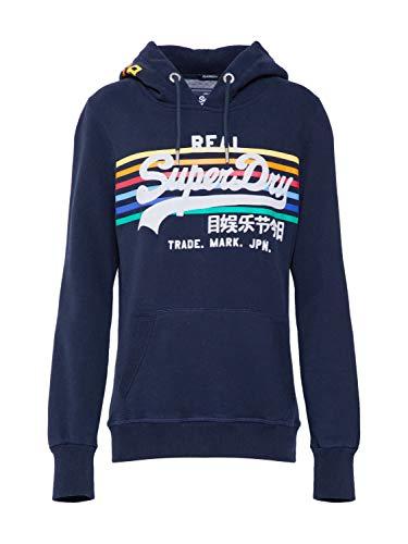 Superdry Damen Sweatshirt Rainbow Stripe mischfarben 12 (M)