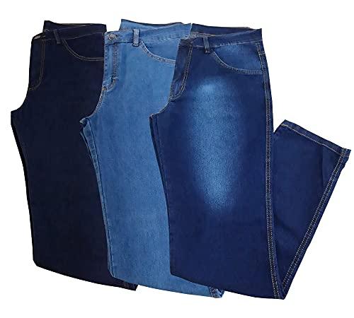 Kit 3 Calças Jeans Masculina Almix (42)