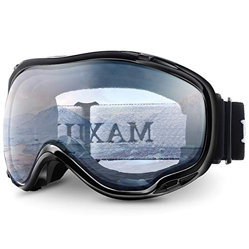 Juli Ski Goggle/Snow Snowboard Goggles for Men, Women & Youth - 100% UV Protection Anti-Fog Dual Lens