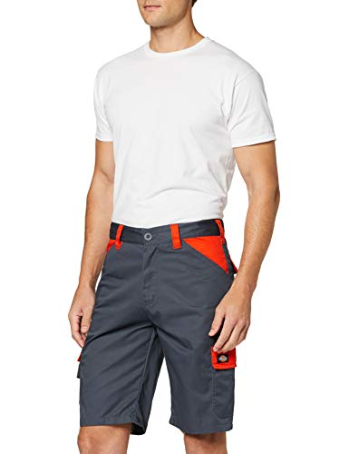 Dickies Dickies Tägliche Shorts, Sz 38, Grau/Orange
