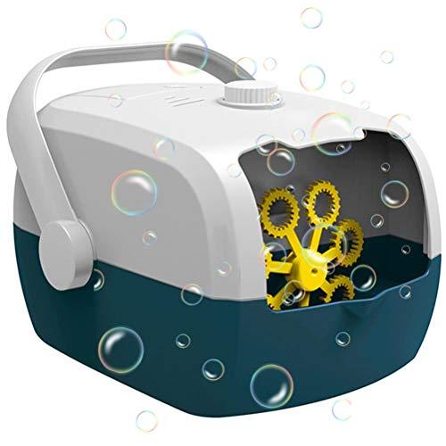 Qwing Maquina de Burbujas,Máquina de Burbujas eléctrica con Carga USB, soplador de...
