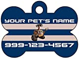Wall-E Dog Tag Pet Id Tag Personalized w/ Name & Number