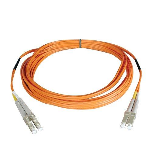 Tripp Lite Duplex Multimode 50/125 Fiber Patch Cable (LC/LC), 8M...