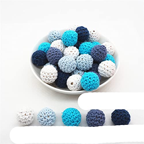 Chengkai 10pcs Silicona Koala Teether Beads DIY Animal Baby Shower Dentición Montessori Sensory Cartoon Jewelry Beads BPA Free-16mm crochet, China