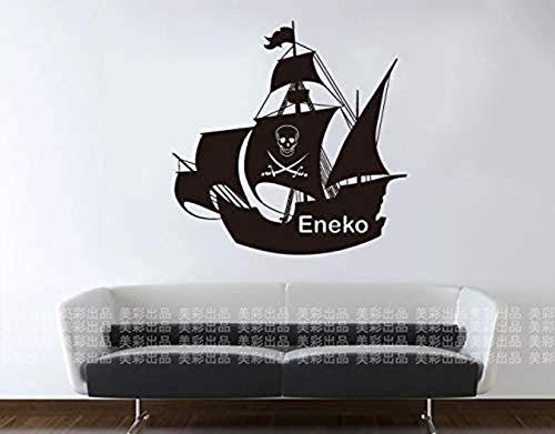 Vela Eneko ONE PIECE etiqueta de la pared del vinilo del coche Decoración de la pared para la guardería Ropa Tienda Salón de belleza Dormitorio Decoración Mural 58X58cm
