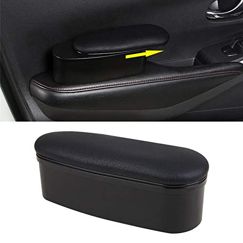 N/P Universal Car Door Elbow Rest Side Door Arm Rest Storage Case Comfort Armrest Support Pad, Ajustable Height, 22x8x6cm