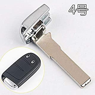 New Replacement Insert Key Small Emergency Key Smart Remote Key Blade for Chrysler 300C Grand Voyager For Dodge (5 Buttons)
