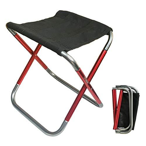 C Hello Cloud Mini sgabello pieghevole da campeggio, mini sedia pieghevole per esterni, sedia pieghevole e portatile, leggero, per la pesca, il campeggio, i viaggi, le escursioni, il giardino (medio)