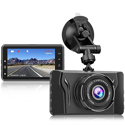 Dash Cam for Cars 1080P FHD Car Dash Camera CHORTAU 2021 New Version Car Camera Recorder 3Inch...
