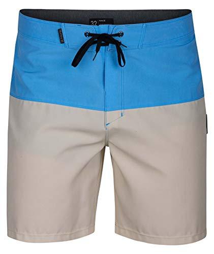 "Hurley - Mens Phantom Stormsurf 18"" Boardshorts, Size: 34, Color: University Blue"