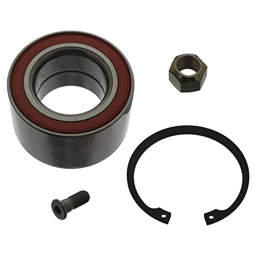 Preisvergleich Produktbild febi bilstein 05847 Radlagersatz mit Sicherungsring,  Achsmutter und Schraube (Hinterachse beidseitig) Radlager,  1 Stück