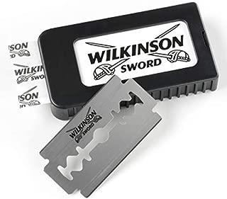 Wilkinson Sword Double Edge Razor Blades Refills for Men, 5 Count - Pack of 6