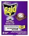 Raid Raid Bed Bug Detector and Trap, 4 Ct