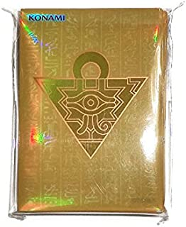 Yu-Gi-Oh! Japanese Version Card Protector Millennium Box Gold Edition 5 Thousand Puzzle 55 Cards Sleeve