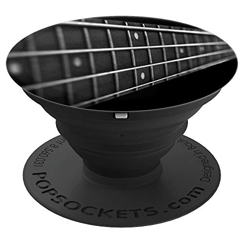 Bass Guitar Fret Musician PopSockets Grip and Stand for Phones and Tablets