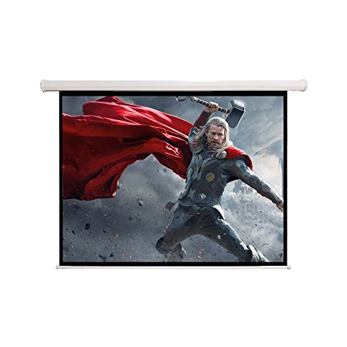 "84*84* Retractable Projector Screen Manual Pull Down Screen –Home Theater/Cinema or Presentation Platform ,119""L"