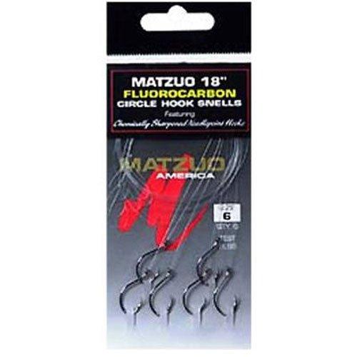 Matzuo 620807-Maurice Mz 18' Flo Circle Snell #1/0 BC