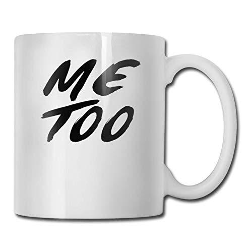 N\A hite Me también imprimió Taza de té de café de cerámica Taza de té de Agua Bebidas Taza fría y Caliente