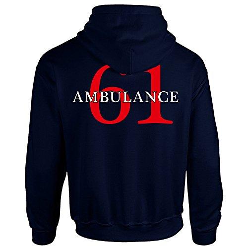 Chicago Fire Dept. - Ambulance 61 Pullover mit Kapuze (S)