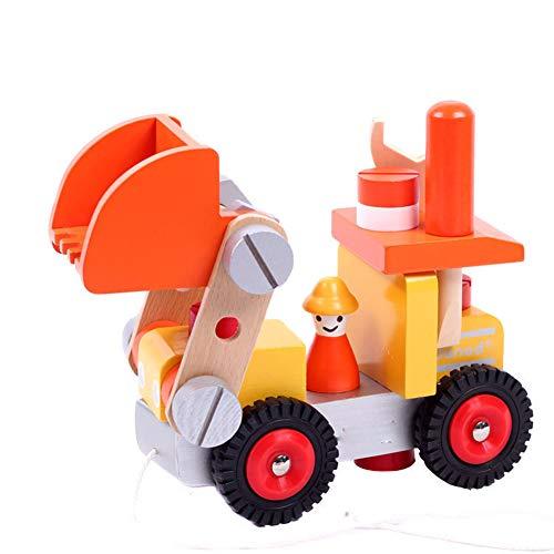 YMUUIHC Demolition Spielzeug, Kinder Demontage Und Montage LKW-Modell Spielzeug, Holz Demontage...