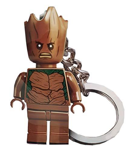 Lego Marvel Avengers Infinity War Teen Groot Keychain Polybag New