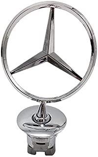 Replacement 3D Emblem Car Logo Front Hood Ornament Car Cover Chrome Eagle Badge (Bright Silver)
