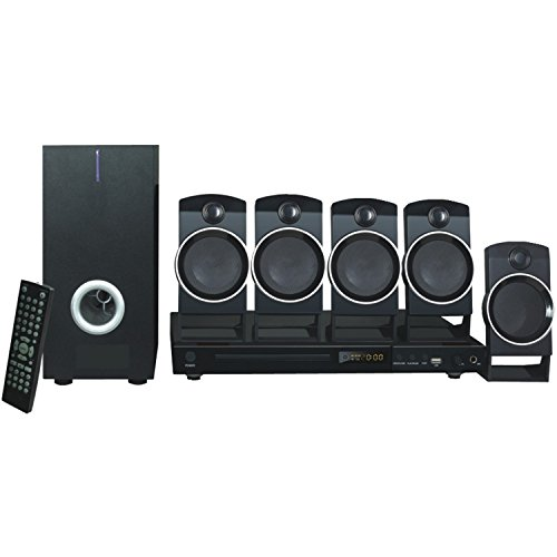 NAXA Electronics ND-859 5.1-Channel Home Theater DVD/Digital Media Player and Karaoke System