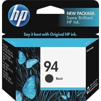 Hp PhotoSmart Pro B8350 OfficeJet H470 PSC 2355Xi 2610 7310 C8765WN  HP 94  OEM Black Inkjet Cartridge