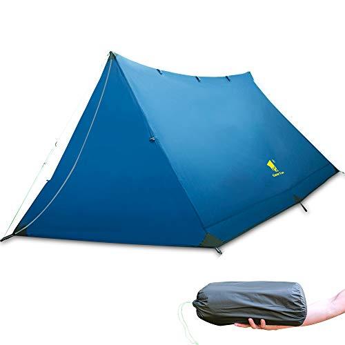 GEERTOP 2-3 Personen Zelt 3 Saison wasserdichte Backpacking Zelt Ultraleicht Campingzelt Kuppelzelt für Outdoor & Camping Wandern Klettern Bergsteigen - Einfache Einrichtung