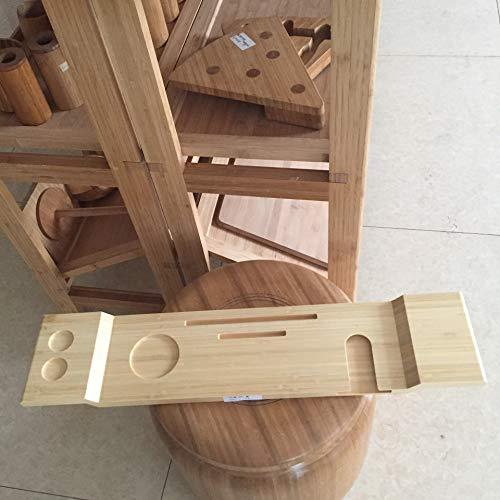 oppinty Vasca da Bagno in bambù Prodotti da Bagno Bagno Suite Forniture alberghiere Articoli Artigianali di bambù Vassoio da Bagno