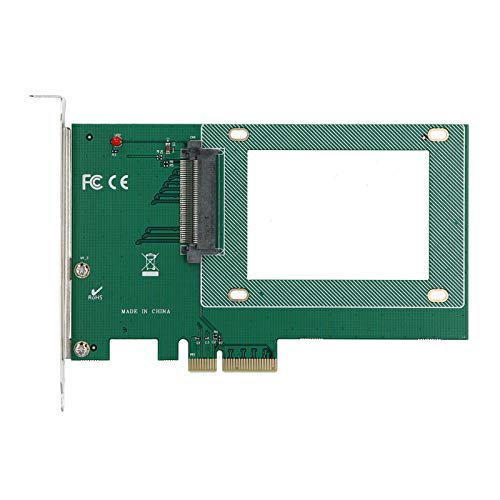 Adaptador SSD Tarjeta adaptadora de componentes electrónicos de expansión SSD ST517 PCI-E X4 U.2 SFF-8639 Compatible con Ranura PCI-E Gen3, Gen2, Gen1 Compatible con 10/8