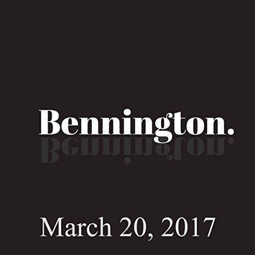Bennington, Amy Miller, March 20, 2017 cover art