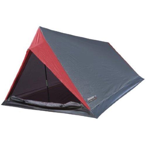 HIGH PEAK 10052 Tente ultra légère 'Minilite' gris/rouge