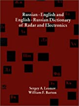Russian-English and English-Russian Dictionary of Radar and Electronics (Artech House Radar Library (Paperback))