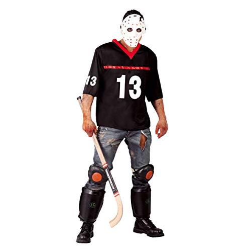 Guirca - Disfraz Hockey Jason Adulto, Color L, 80677