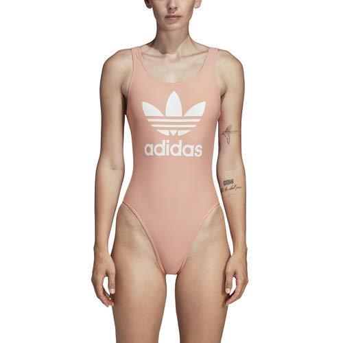 adidas Originals Trefoil Swimsuit Dust Pink 2XS