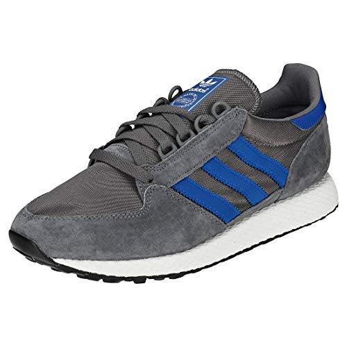 adidas Forest Grove, Scarpe da Fitness Uomo, Grigio (Gricua/Reauni/Negbás 000), 40 EU