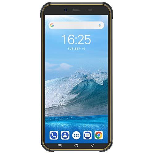 Blackview BV5500Plus Simフリー スマホ 本体 新品 4Gスマートフォン 本体 Android10.0 5.5インチ 耐衝撃 スマホ 本体 防水 スマホ 防塵スマホ タフスマホ 頑丈 スマホ 本体 800万画像+500万画素 3GB RAM+32GB ROM 4400mAhバッテリー タフスマホ 技適認証済み 携帯電話 1年間保証付き (黄色い)