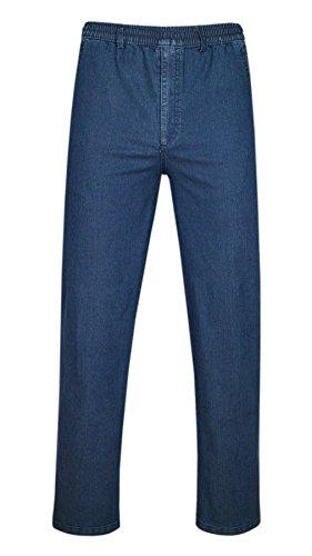 T-MODE Stretch Jeans Schlupfhose ohne Cargotaschen Herbst-Kollektion-Blue-L
