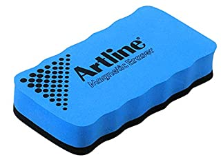 Artline Drywipe Whiteboard Eraser Magnetic for Magnetic Boards Blue Ref ERTMMBLU (B000J66YBY) | Amazon price tracker / tracking, Amazon price history charts, Amazon price watches, Amazon price drop alerts