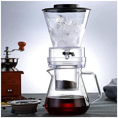 Eis-Tropf-Kaffeekanne, Glas,...